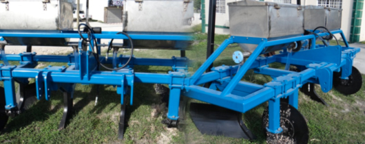 Two-row-Fertilizer-applicator