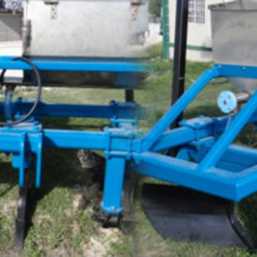 Two Row Fertilizer Application